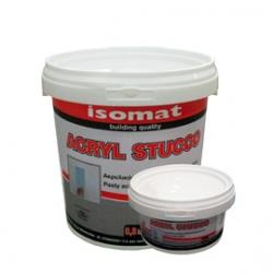ISOMAT ACRYL STUCCO: Aκρυλικός στόκοςσπατουλαρίσματος