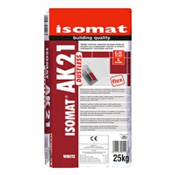 ISOMAT AK 21: Υψηλής ποιότηταςρητινούχα κόλλα πλακιδίωντεχνολογίας LOW DUST