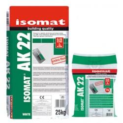 ISOMAT AK 22: Εύκαμπτη, υψηλής ποιότητας ρητινούχα κόλλα πλακιδίων C2 TE S1