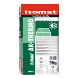 ISOMAT AK-THERMO: Ινοπλισμένη κόλλα και υλικό σπατουλαρίσματος θερμομονωτικών πλακών